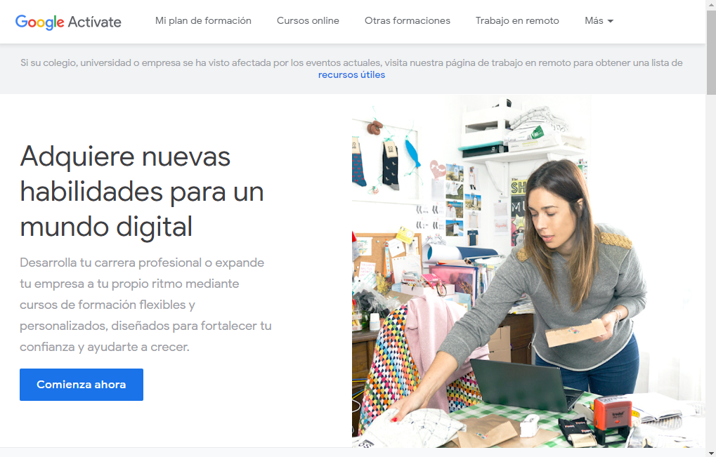 Cursos Gratis Google Activate Con Certificacion Soporteprofit Com